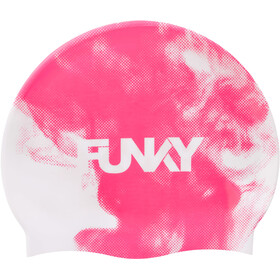 Funky Trunks Silicone Swimming Cap Men, steaming hot